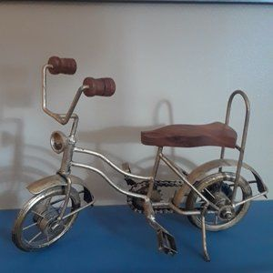 Home Decor - Cycle, Wooden Seat and Handle Bars